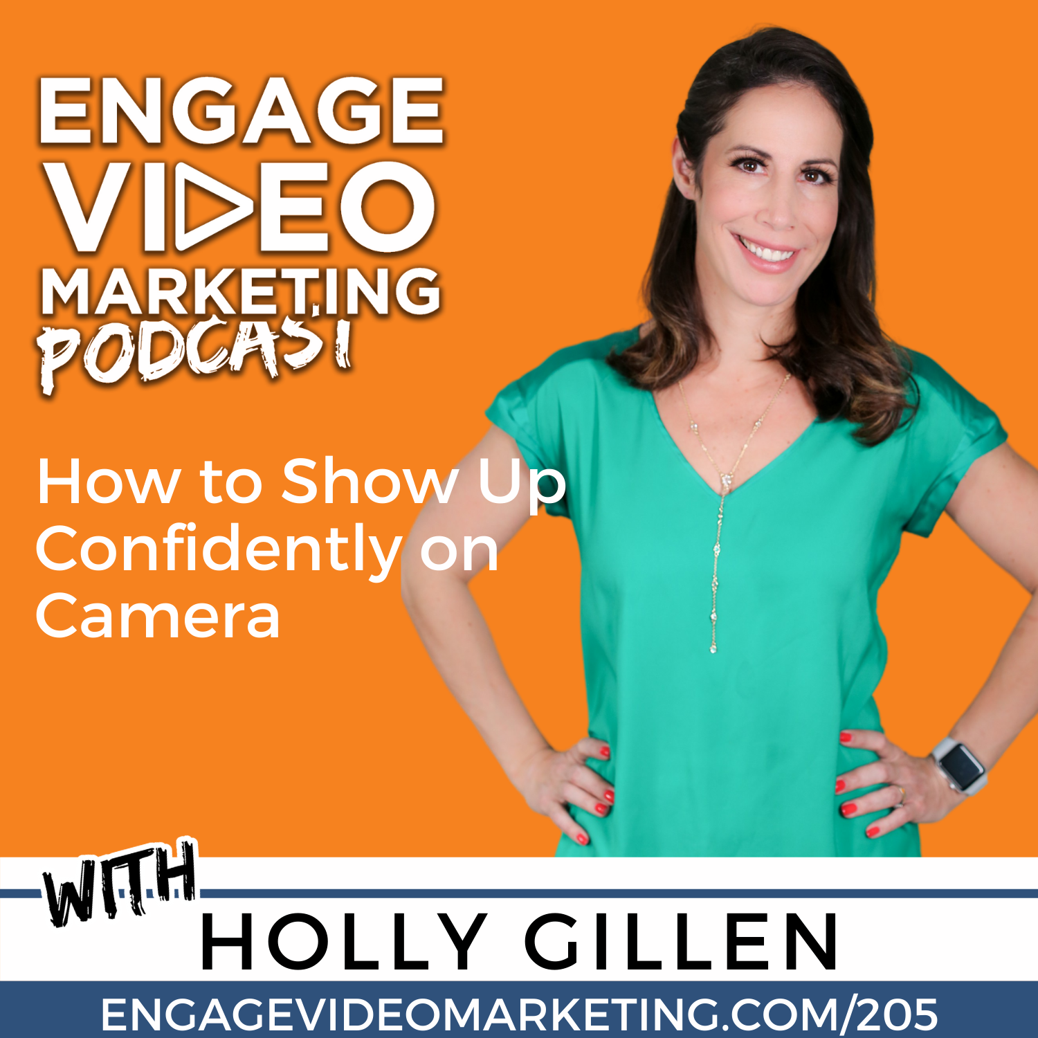 How to Show Up Confidently on Camera with Holly G